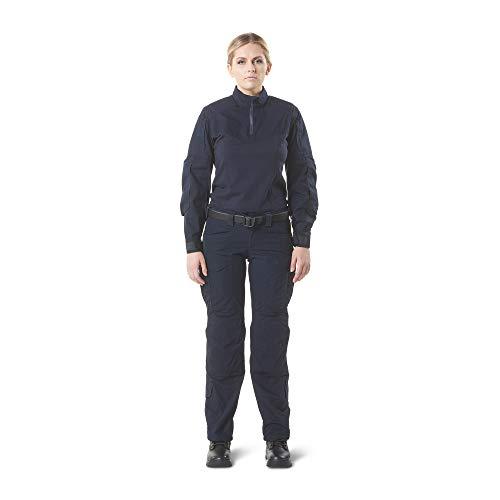 5.11 62023-724-M Camisa rápida XPRT para mujer, azul marino oscuro, mediana
