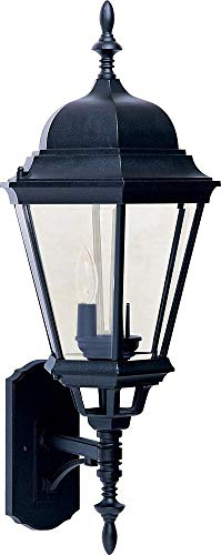 Maxim Lighting 1006BK Westlake 3-Light Outdoor Wall, Black - Maxim Collection 14 Light