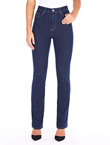 (FDJ French Dressing Women's Suzanne Straight Fit Straight Leg Jeans - Petite )