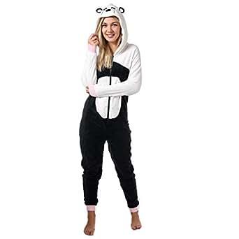 Brave Soul - Pijama de una Pieza - para Mujer Panda S