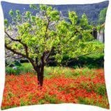 Spring in countryside - Throw Pillow Cover Case (18