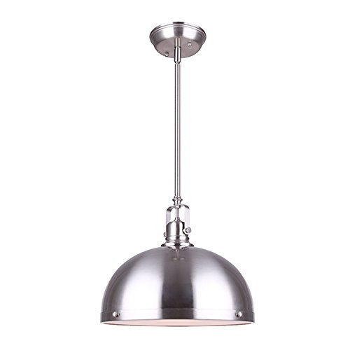Canram IPL298B01BN-L Polo Rod Pendant Light with Frosted Glass