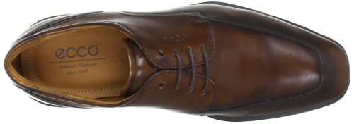 Ecco Mens Cairo Apron-teen Oxford Walnut