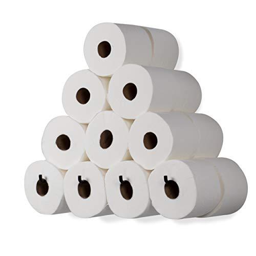 Wallniture Long Nera Wall Mount Toilet Paper Roll Storage Holder Wrought Iron Black