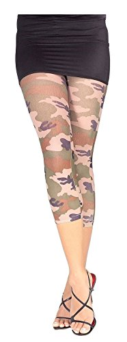 Camo Print Leggings Adult Std product image