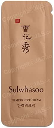 30pcs X Sulwhasoo NEW Firming Neck Cream 1ml