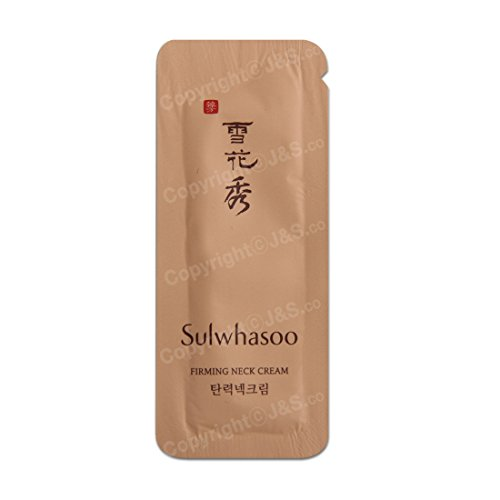 30pcs X Sulwhasoo NEW Firming Neck Cream 1ml