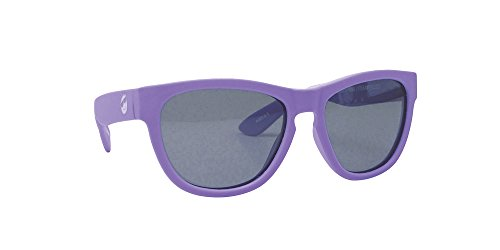 Minishades Polarized Classic Kids Sunglasses, Little Lilac Frame/Polarized Grey - For Raybans Girls