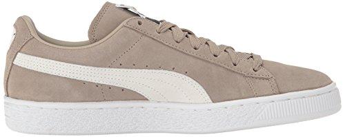 Puma Ruskind Klassiske +, Chaussons Sneaker Adulte Mixte Vintage Khaki-puma Hvid