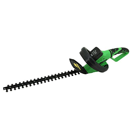 East 18-Volt Lithium Ion Cordless Hedge Trimmer Includes Battery ET1201