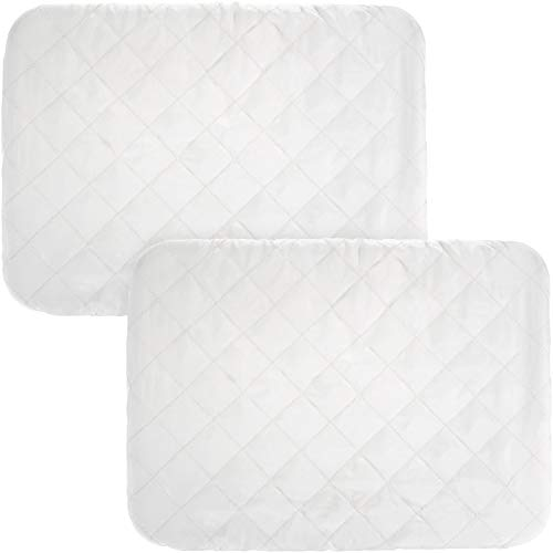 Chengu 2 Pieces Indoor Air Conditioner Cover Winter Air Conditioner Protection White Air Conditioner Cover (21 x 14 x 2.5 inches)