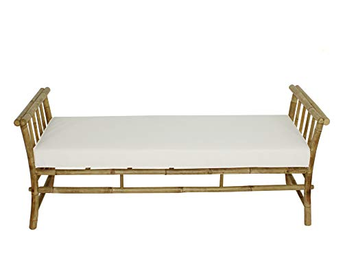 Statra L316N03 Bamboo Bench Sofa Siesta Daybed Lounger, 26