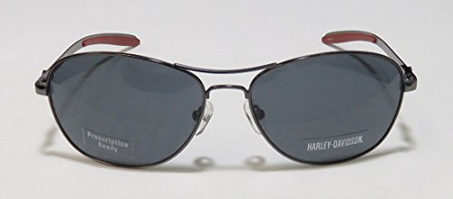 2615f649cf16bf ... Harley Davidson Eyewear HDX877 cadre Gris acier brillant HD Lunettes de  soleil Gris ...