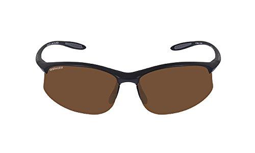 Serengeti Black Lens (Serengeti Maestrale Polar Sunglasses,Satin Black with Drivers Lenses)