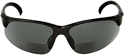 Sport Wrap Bifocal Sunglasses - Outdoor Reading/Activity Sunglasses (Black, 1.75 - Safety With Readers Sunglasses