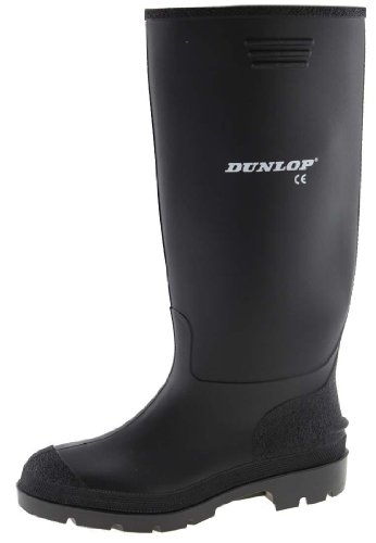 Dunlop - STIVALE PRICEMASTOR PVC BLACK - 380 PP (TG.43 | UK 9 | US 10)