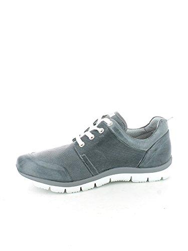 Sneaker in Brandon Jeans effetto forato N. 44