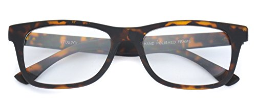 Small Square Rectangular Nerd Glasses Thin Frame Clear Lens Optical Quality - Black - Glasses Frame Small Nerd