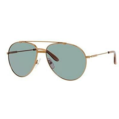 Carrera 67/S Sunglasses CA67S-0OUN-A3-6015 - Antique Gold Frame, Green Foster Lenses, Lens
