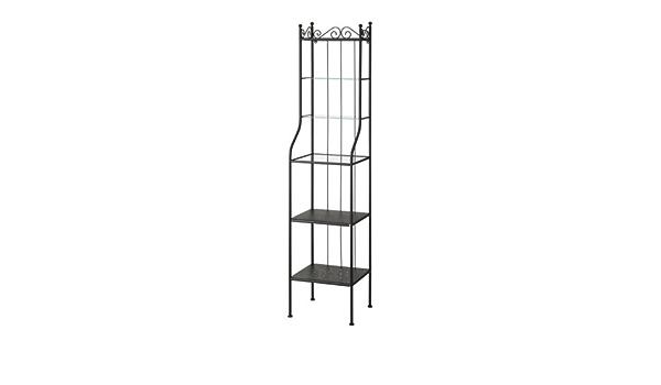 Ikea ronnskar – Estantería, Negro – 42 x 176 cm: Amazon.es: Hogar