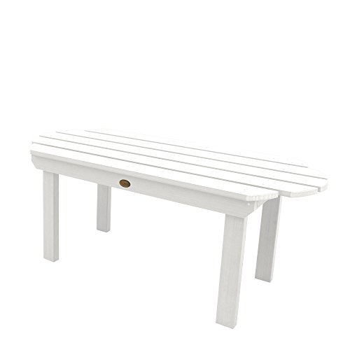- highwood AD-TBL-CW3-WHE Classic Westport Conversation Table, White