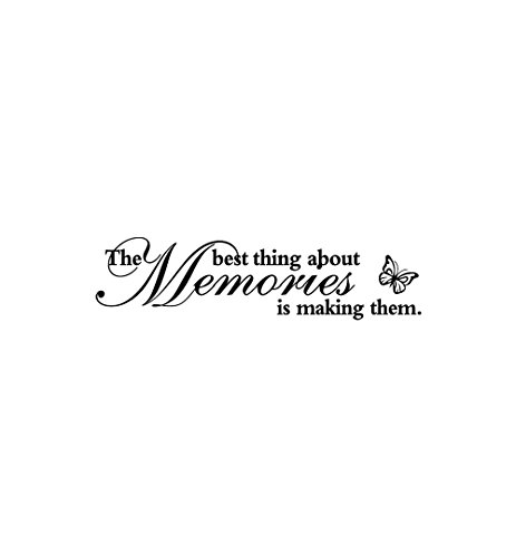 Amazon.com: Botrong The Best Thing About Memories is Making Them
