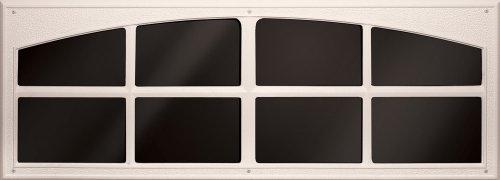 (Coach House Accents Simulated Garage Door Window (2 windows per kit) - Almond - Model AP148199)