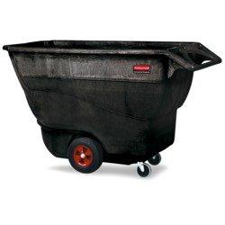 (RUBBERMAID Structural Foam Tilt Trucks - 450-Lb. Capacity)
