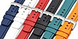 Zealande Fitted Swiss FKM Rubber Strap for Omega