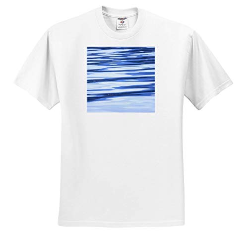 (3dRose Danita Delimont - Abstracts - Water Reflections. - Youth T-Shirt XS(2-4) (ts_314520_11) White)