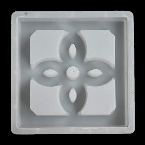 Queenwind 30 * 30cm アンティーク窓風光明媚な壁プラスチック金型好意セメントレンガコンクリート Folwer パターン金型