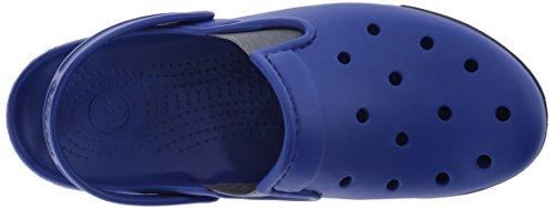Blue Clog Crocs Unisex Citilane Ciabatte cerulean adulto charcoal Blu 7q0Pq5Rx