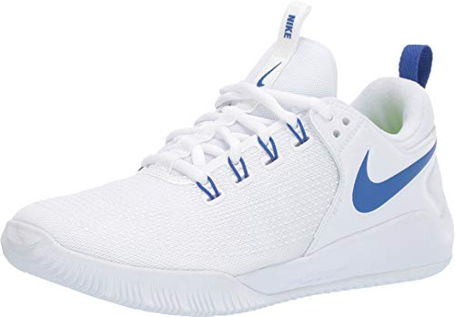 NIKE Women's Air Zoom Hyperace 2 Shoes, White/Game Royal, 10.5 B US ()