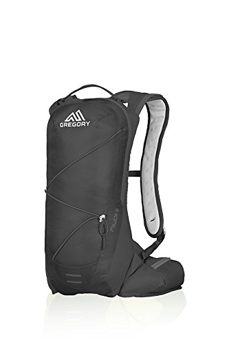 Gregory Mountain Products Miwok 6 Liter Men's Daypack, Storm Black, One Size