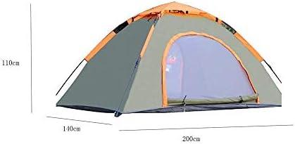 Taoke Outdoor-Zelt, Wasserdicht Automatische Instant-Pop-up, geeignet for Camping Reiseausrüstung, 200 * 140 * 110cm 8bayfa