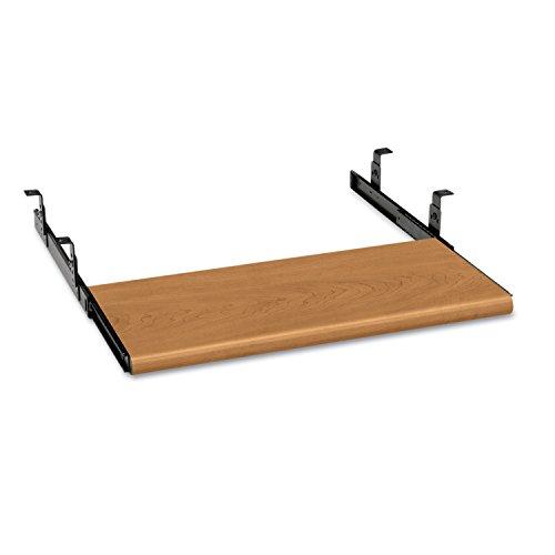 MegaDeal HON 4022C Slide-Away Keyboard Platform, Laminate, 21-1/2w x 10d, Harvest