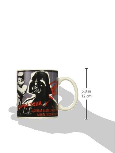Jumbo Zak Designs SWRR-8720 Star Wars Ep4 Ceramic Mug Multicolor