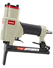 meite 7116BL Upholstery stapeler-1/4-Inch to 5/8-Inch 22 Gauge 3/8'' Crown C Crown Long Nose Fine Wire Stapler