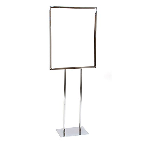 KC Store Fixtures 10602 Floor Standing Sign Holder, 22