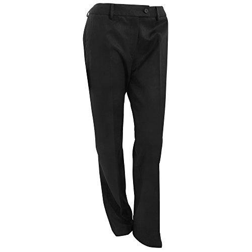 Brook Taverner - Pantalones formales de uniforme modelo Aura para mujer Azul marino
