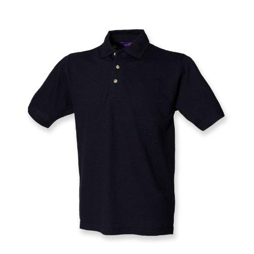 Henbury–Polo con cuello alto Navy*†
