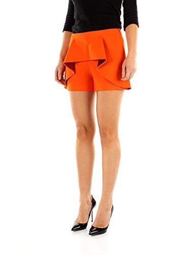 Moschino Shorts Arancione Donna Triacetato Boutique j03075824 170p1vw