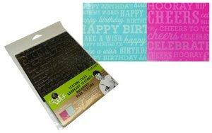 Duff Impression Mat Set - Birthday/Congratulations