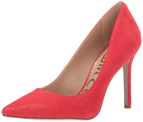 Sam Edelman Women's Hazel Shoe, Coral Punch Suede, 8.5 M US
