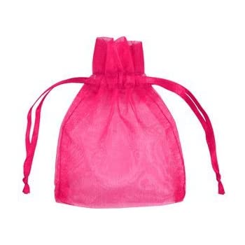 Amazon.com: aiede 100pcs 5 x 7 inches Favor Bolsa de organza ...