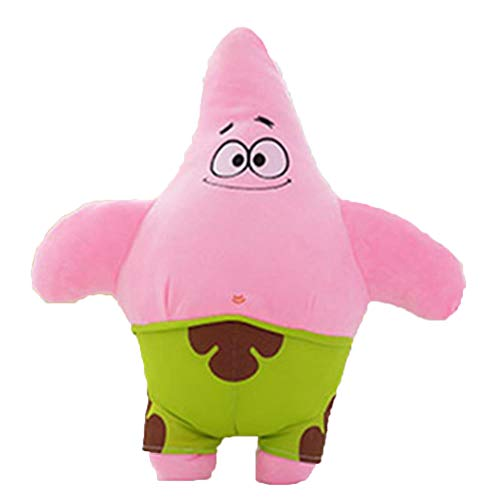JIDLU 40/50CM Cute Baby Toy Spongebob Patrick Star Cartoon Soft Animal Pillow Dolls Kids Birthday Gifts
