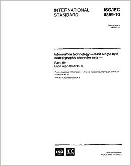 ISO/IEC 8859-10:1998, Informat...