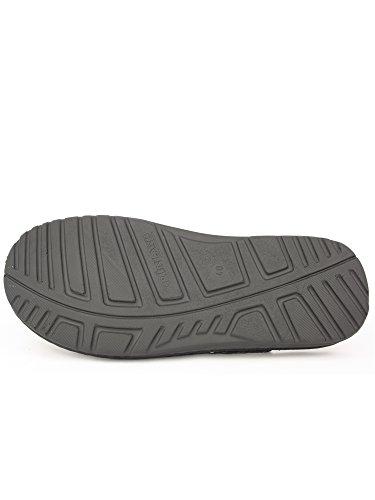 GRUNLAND - Zapatillas de estar por casa para hombre turquesa