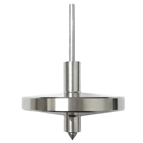 Joytech Precision Gyroscope Kill Time Stainless Steel Spinning Top Anti Gravity Spinner Balance Toy JA09 (Gravity Top Anti)