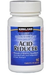 - Kirkland Signature Maximum Strength Acid Reducer Ranitidine 150mg, 95 Tablets